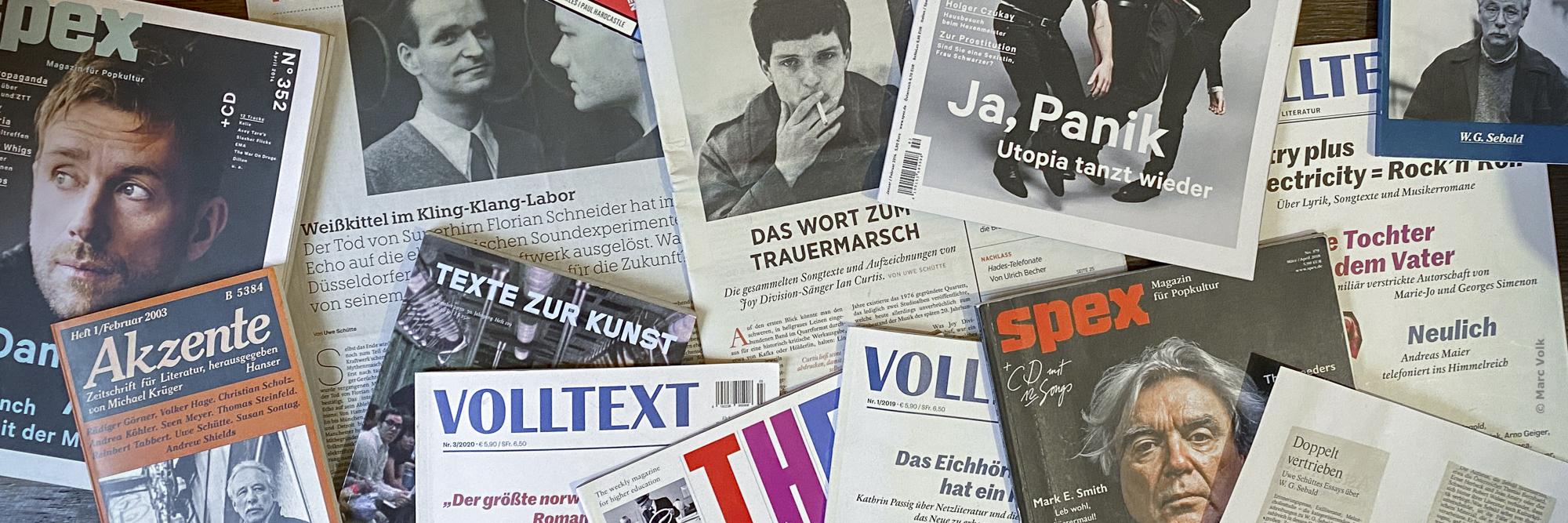 Bücher von Uwe Schütte, Berlin 2021